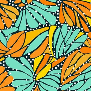 Monarch Butterfly Mosaic #2