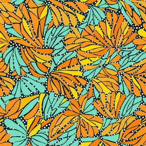 Monarch Butterfly Mosaic small scale