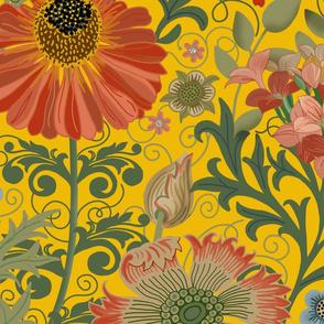 Le Jardin Art Nouveau Yellow