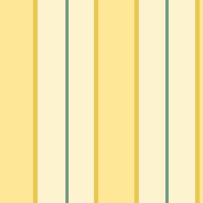 vertical regency stripes yellow medium
