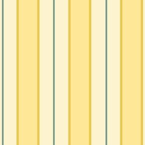 vertical regency stripes yellow small