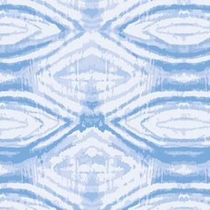 indigo blue shibori diamond texture tie dye