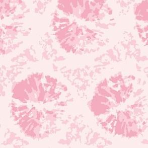 pink shibori mandala tie dye