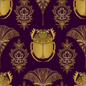 golden scarabs