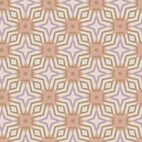 purple geometric star grid