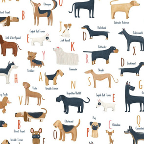 Small scale Dog breeds ABC
