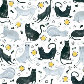 Cat & Doodles