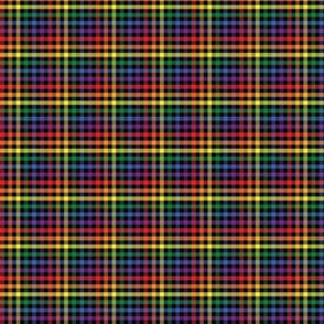 Rainbow Plaid - Extra Small (Rainbow Collection)