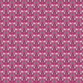 Art Nouveau Pink garland--Smaller