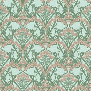 Art Nouveau Spring Garland--Larger