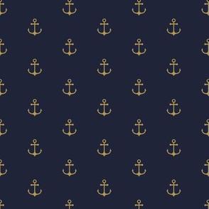 Anchor Navy Gold - medium