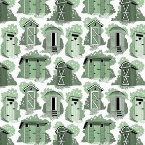 When donkeys fly 8x8 blue