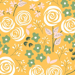 Rose Garden in yellow (large)