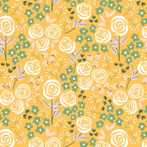 Rose Garden in yellow (small)