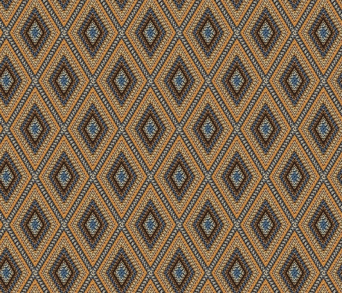 gaucho ethnic argyle gold