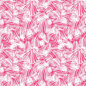 Pink Abstract Scallop