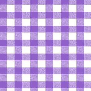 Purple Gingham Medium
