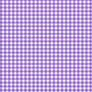 Purple Gingham Tiny