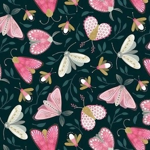 Moths and Fireflies / Small Scale