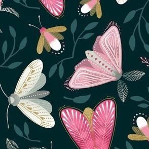 Moths and Fireflies
