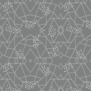Geometric Web gray large scale