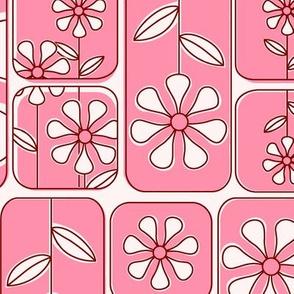 Daisy Windows Pink
