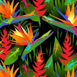 Geckos in Paradise Small