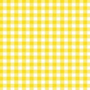 Yellow Gingham Small