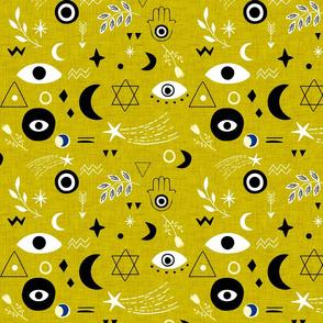 Cosmic Charm Dark-goldenrod