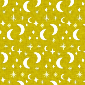 Moon and Star dark-goldenrod