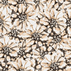 Pearl flowers pattern
