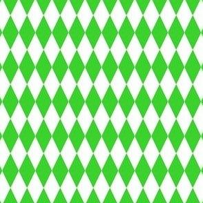 Harlequin Diamond Circus Green