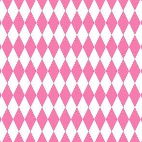 Harlequin Diamond Circus Pink