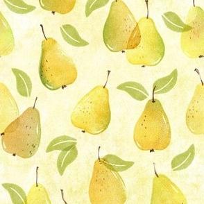Honey Gherkin Pears