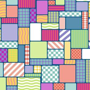 Geometric Grid - Talisman Background
