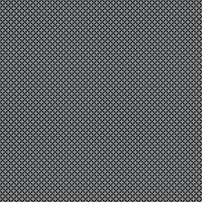 Dots in Diamond Format - Black on Ultimate Gray