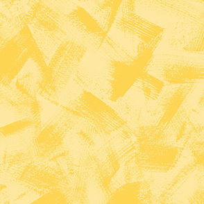 Dry Brush Textured Blender in Warm Yellows