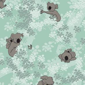 Cuddly Koalas - Mint