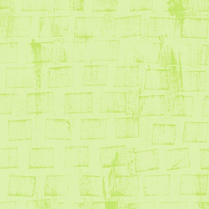 """""""Ice Cube"""" Textured Blender in Yellow-Greens"""