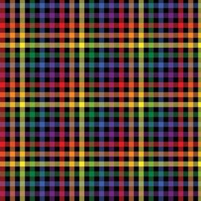 Rainbow Plaid - Small (Rainbow Collection)