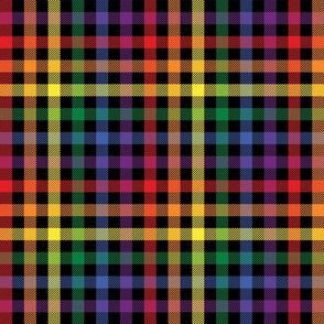 Rainbow Plaid - Medium (Rainbow Collection)