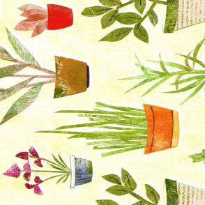 Herbary Teatowel