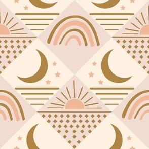 geo sun moon star LARGE
