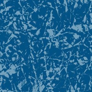 Crushed Paper Textured Blender in Dark Blues
