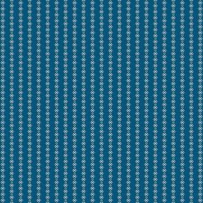 cross stitch cadet blue 2057-45