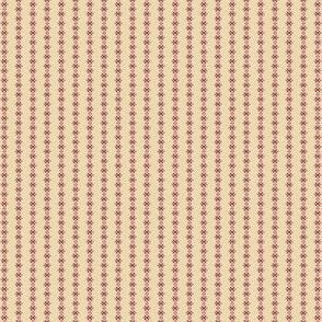 cross stitch buff and rose 2057-37