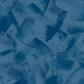 Dry Brush Textured Blender in Very Dark Blues
