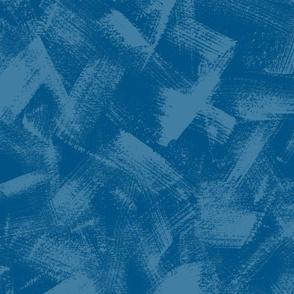 Dry Brush Textured Blender in Dark Blues