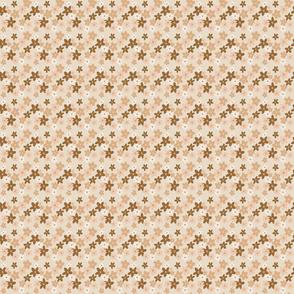 Retro floral small print