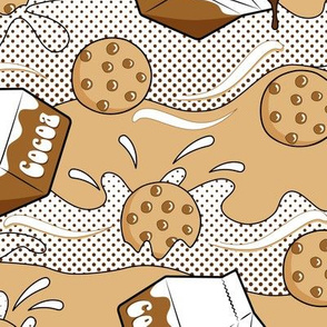 Pop Art - Cookies and Cocoa